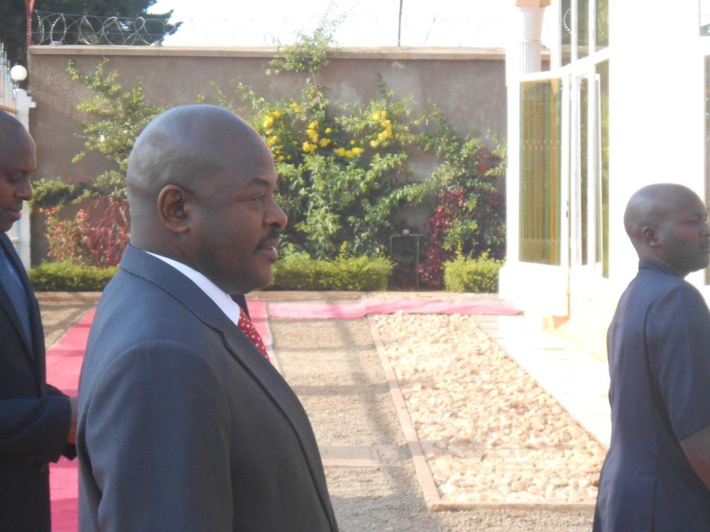 Pierre Nkurunziza, président de la république