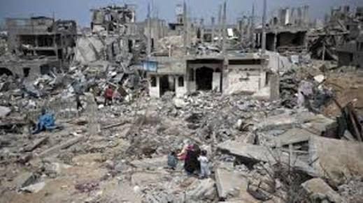 Gaza en ruine.